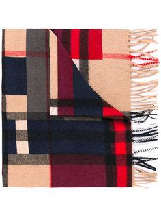 шарф дизайна колор-блок Burberry