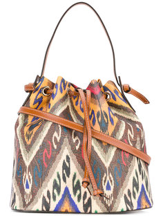 сумка на плечо с принтом Ikat Etro