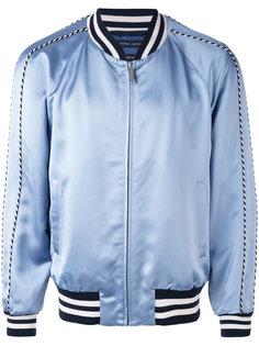 куртка-бомбер с контрастной отделкой Marc Jacobs