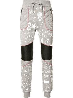 спортивные брюки с графическим принтом Philipp Plein