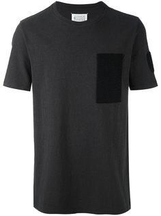 футболка с контрастной заплаткой Maison Margiela