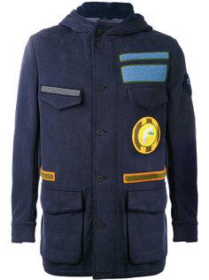 куртка в стиле милитари Fendi