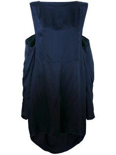 платье шифт с завязками Maison Margiela