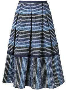 полосатая юбка миди Erdem