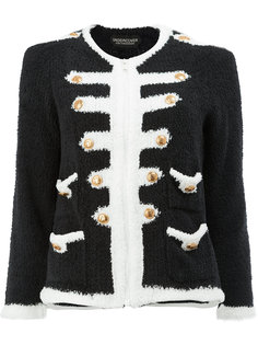 knitted military jacket Undercover