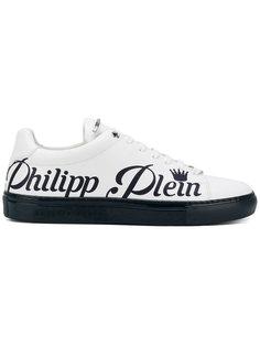 кроссовки с принтом логотипа Philipp Plein