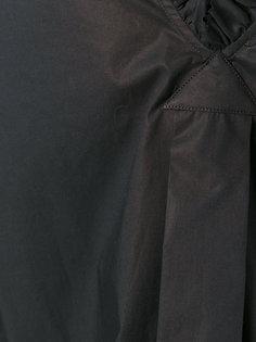 Rocco frilled short sleeve blouse Lareida