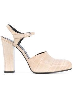 туфли на каблуках-столбиках Jil Sander