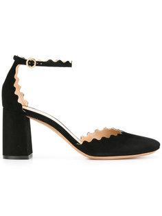 туфли-лодочки с волнистой окантовкой Chloé