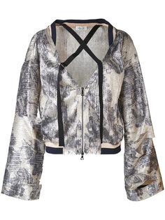 куртка с резным узором и широкими рукавами Aviù