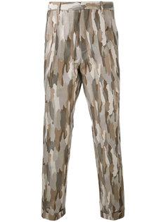 камуфляжные брюки кроя слим Cerruti 1881