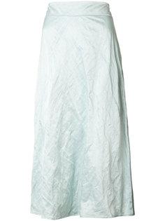 юбка-миди с мятым эффектом Sies Marjan
