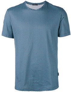футболка в клетку  Pal Zileri