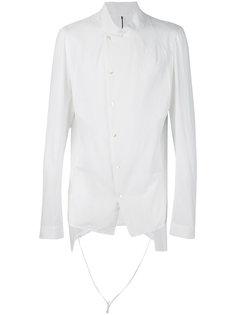 рубашка с необработанными краями Masnada