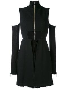 мини-платье с вырезными деталями Versus