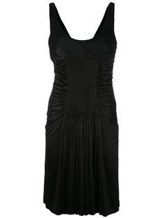 ruched dress Versace Vintage
