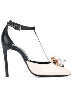 декорированные туфли Lanvin