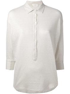 футболка-поло с рукавами три четверти Zanone