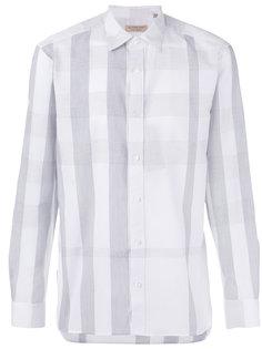 рубашка с вышивкой Burberry