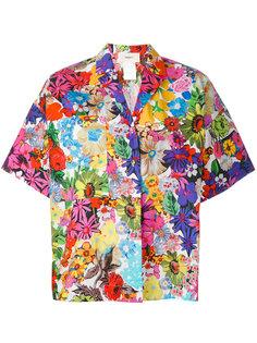рубашка с цветочным принтом Ports 1961