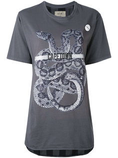 snake print T-shirt Sold Out Frvr