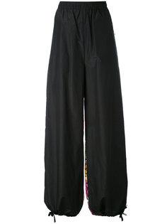 брюки с контрастными панелями  Ports 1961