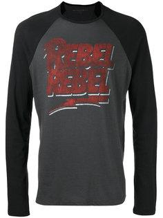 футболка Rebel Rebel с длинными рукавами John Varvatos
