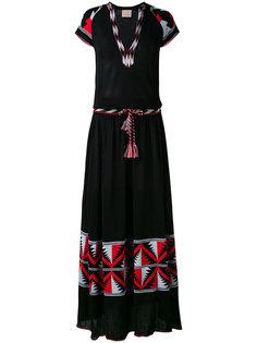 длинное платье шифт Laneus
