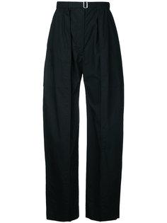 костюмные брюки свободного кроя Lemaire