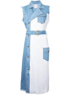 джинсовое платье без рукавов Each X Other
