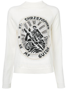 Saint Christopher sweatshirt Christopher Kane