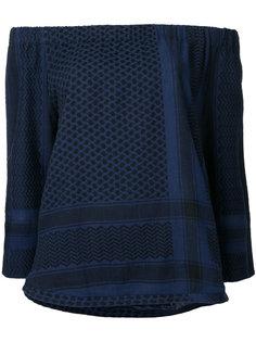 блузка с открытыми плечами  Cecilie Copenhagen