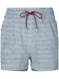 полосатые шорты с эластичным поясом Loveless