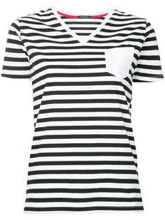 полосатая футболка с V-образным вырезом Loveless