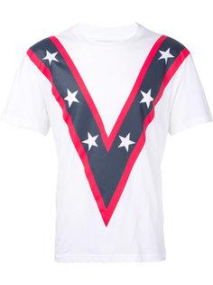 футболка с принтом звезд Yoshio Kubo