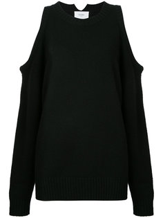 cropped cut-out sweater Bassike