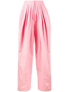 широкие брюки с плиссировкой Vika Gazinskaya