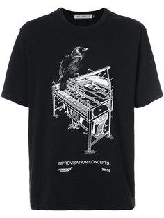 футболка с принтом Undercover