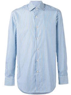 полосатая рубашка Kiton