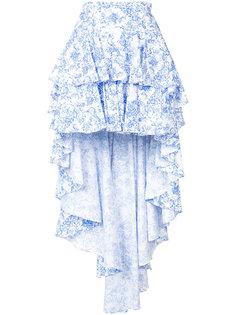 юбка с удлиненной задней панелью Caroline Constas
