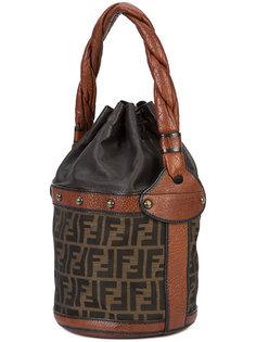 Monogram bucket shoulder bag Fendi Vintage