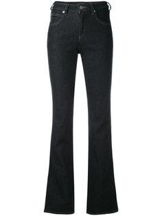 расклешенные джинсы kick Armani Jeans