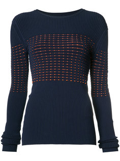 ribbed knit jumper  Jason Wu