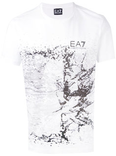 футболка с принтом Ea7 Emporio Armani
