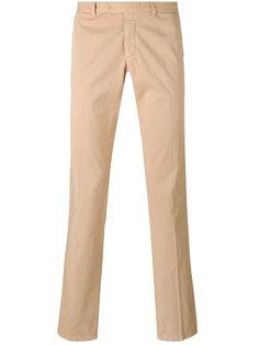 брюки-чинос прямого кроя Armani Jeans