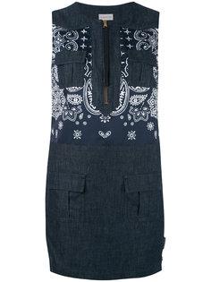 джинсовое платье без рукавов Moncler