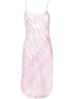 платье с анималистичным принтом Maiyet