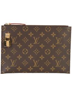 LV lock clutch bag Louis Vuitton Vintage