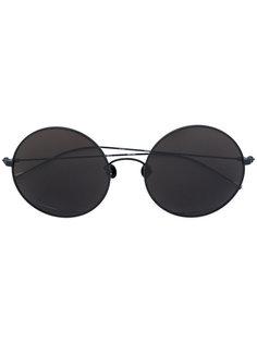 солнцезащитные очки в объемной оправе Ann Demeulemeester