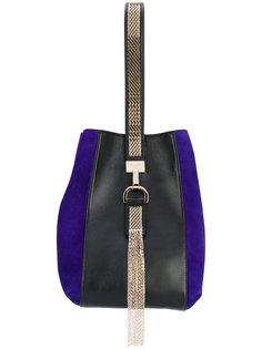 сумка на плечо с цепочной кисточкой Lanvin